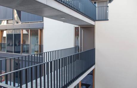 STRÖBEL BILGER MILDNER Ingenieure   K6, Mehfamilienhaus in Pfullingen, Holzständerbauweise, Neubau