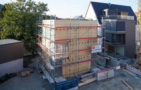 STRÖBEL BILGER MILDNER Ingenieure | K6, Mehfamilienhaus in Pfullingen, Holzständerbauweise, Neubau