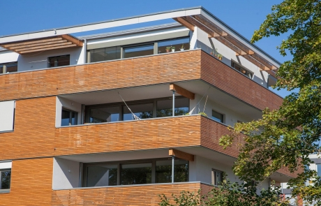 STRÖBEL BILGER MILDNER Ingenieure   Mehrfamilienhaus in Tübingen, Neubau, 4-geschossig, Holzständerbauweise