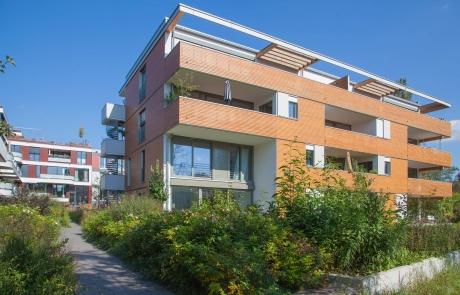 STRÖBEL BILGER MILDNER Ingenieure | Mehrfamilienhaus in Tübingen, Neubau, 4-geschossig, Holzständerbauweise