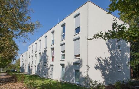 STRÖBEL BILGER MILDNER Ingenieure   Flüchtlingsunterkunft in Tübingen, Neubau, Holzständerbauweise