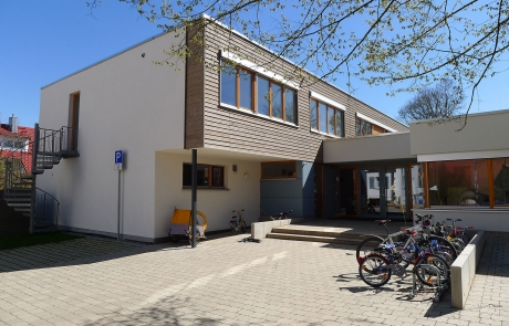 STRÖBEL BILGER MILDNER Ingenieure   Anbau   Öffentlicher Auftraggeber   Holzständer   Tübingen-Weilheim