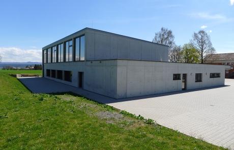 STRÖBEL BILGER MILDNER Ingenieure   Tiefgarage   Turnhalle   Öffentlicher Auftraggeber   Massivbau mit Kerndämmung   Wendelsheim