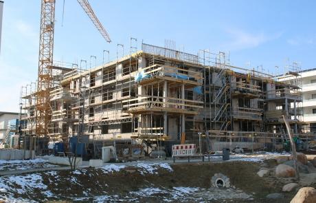 STRÖBEL BILGER MILDNER Ingenieure | Parkhaus | Neubau | Baugemeinschaft | Massivbau | Renningen